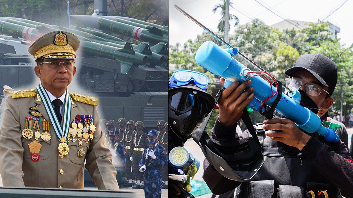 ชาวเมียนมา เชื่อ ถึงเวลา 'จับอาวุธ' จัดตั้งกองทัพสู้ รัฐบาลทหาร