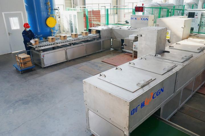 นักวิจัยจีนพัฒนาชุดอุปกรณ์ 'ฆ่าเชื้อโควิด-19' ด้วยรังสีอิเล็กตรอน