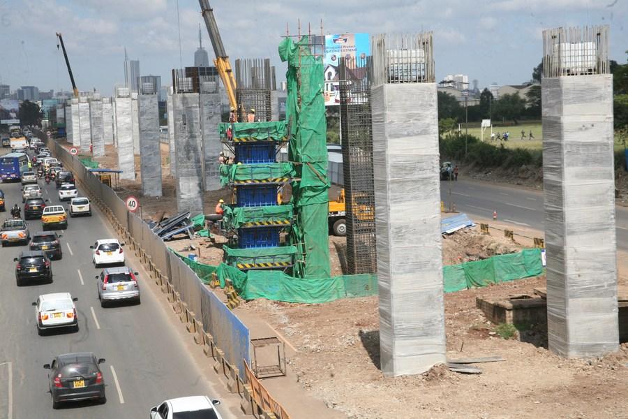 'โครงการทางด่วน' ฝีมือจีนในเคนยา เดินหน้าราบรื่น คาดเปิดใช้ต้นปีหน้า