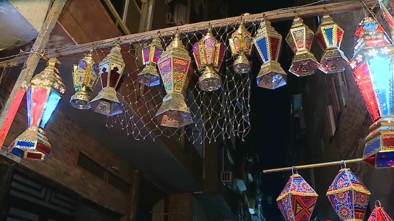 'โคมไฟรอมฎอน' สว่างไสวรับเดือนศักดิ์สิทธิ์ในอียิปต์