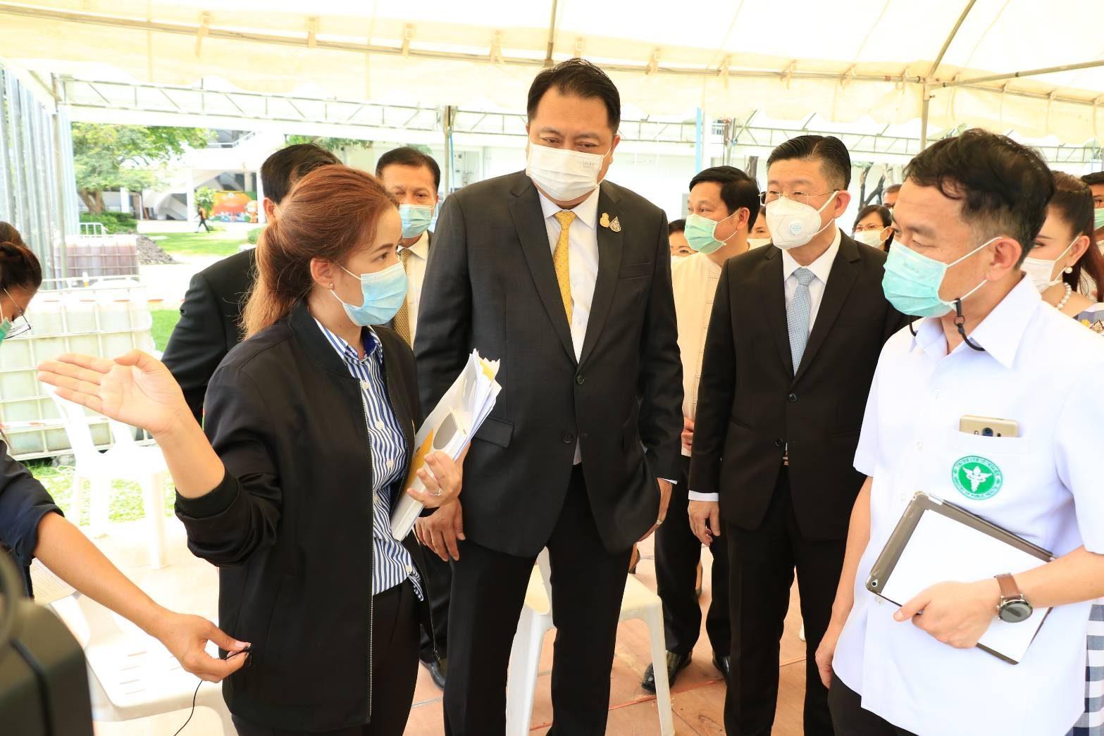 รมว.สุชาติ ยันศูนย์ฯไทย-ญี่ปุ่น พร้อมตรวจคัดกรองโควิด -19 ผู้ประกันตน เริ่ม 17 เม.ย.นี้