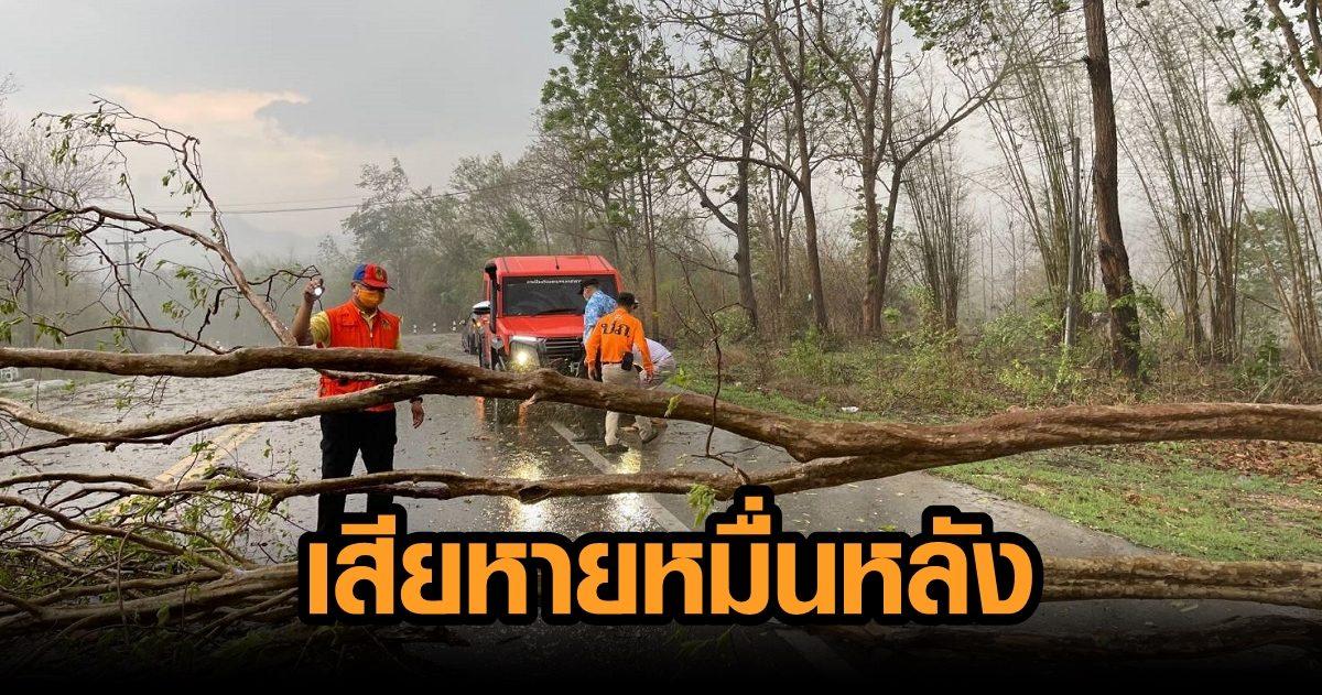 ปภ.รายงานเกิดวาตภัยใน 14 จังหวัด พบบ้านเรือน ปชช. เสียหายกว่า 14,000 หลัง ดับ 4 ราย