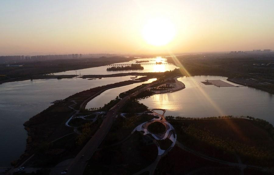 สือเจียจวงเดินหน้าฟื้นฟู 'แม่น้ำ' พัฒนาระบบนิเวศท้องถิ่น