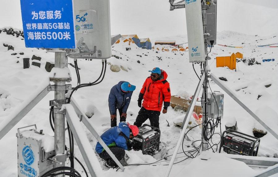 จีนสร้าง 'เครือข่ายมือถือ 5G' ใหญ่สุดในโลก