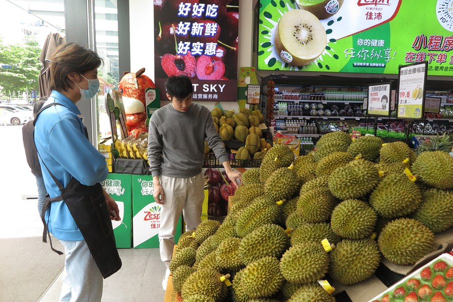 'ทุเรียนไทย' ขายดีในตลาดจีน สวนกระแสวิกฤตโควิด-19