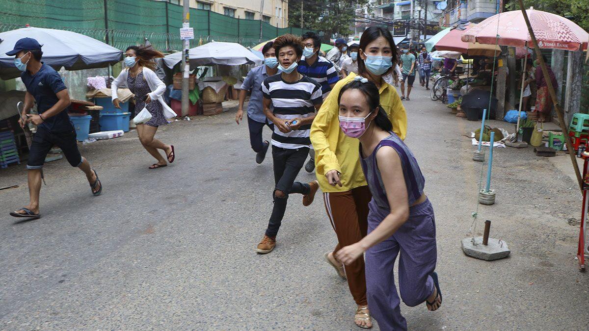 ยูเอ็นเอสซี จี้กองทัพเมียนมา ยุติรุนแรง-คืนประชาธิปไตย-ปล่อยนักโทษการเมือง
