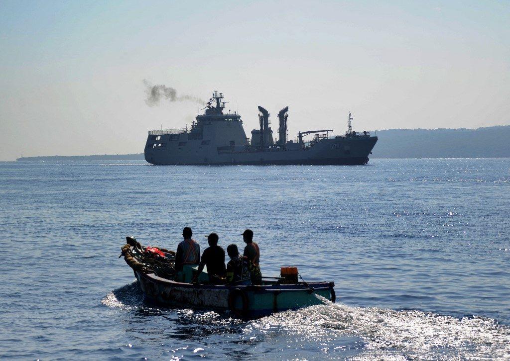 จีนส่งกองเรือ ช่วยกู้ซากเรือดำน้ำอินโดนอนจมก้นทะเลบาหลี