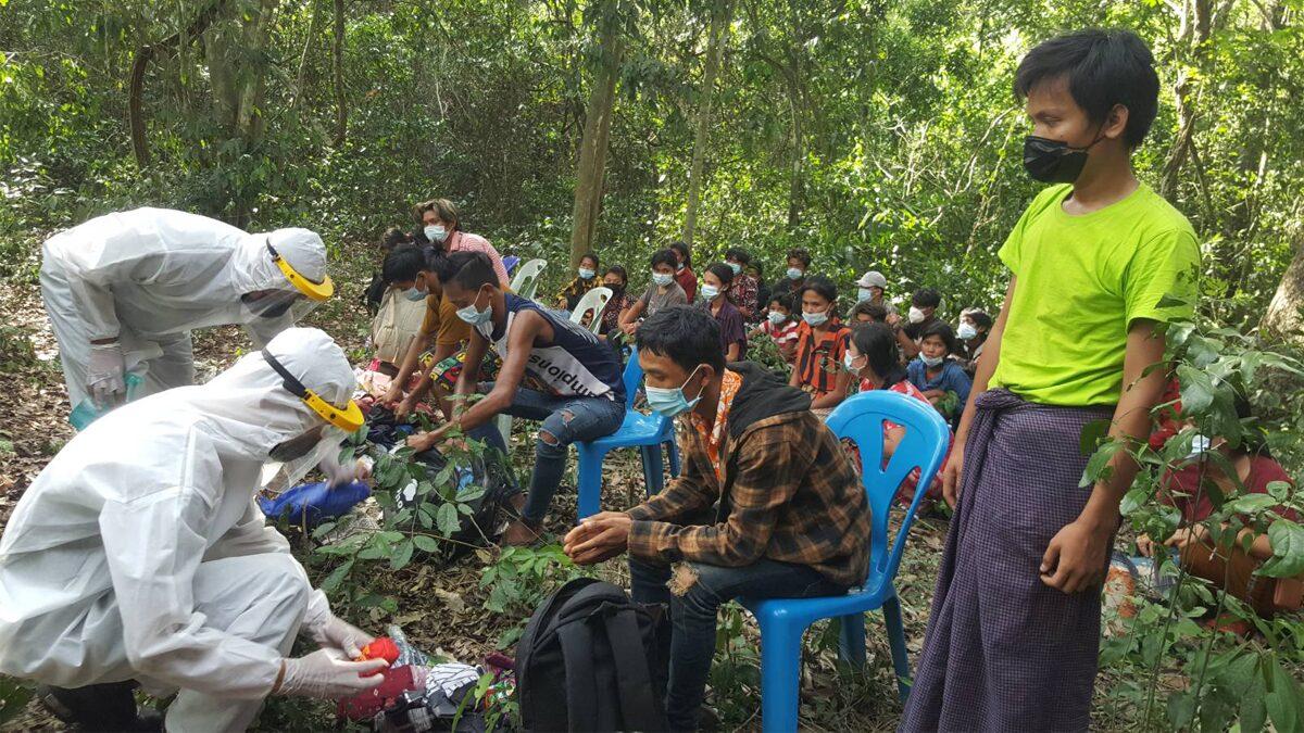 จ้างขนแรงงานพม่า ข้ามแดน หัวละ 4 พัน แต่ถูกจับได้ครบ 30 ราย