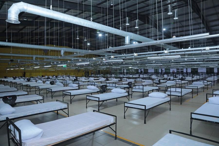 'กองทัพศรีลังกา' สร้างโรงพยาบาลใหญ่สุดในประเทศ รับมือโควิด-19