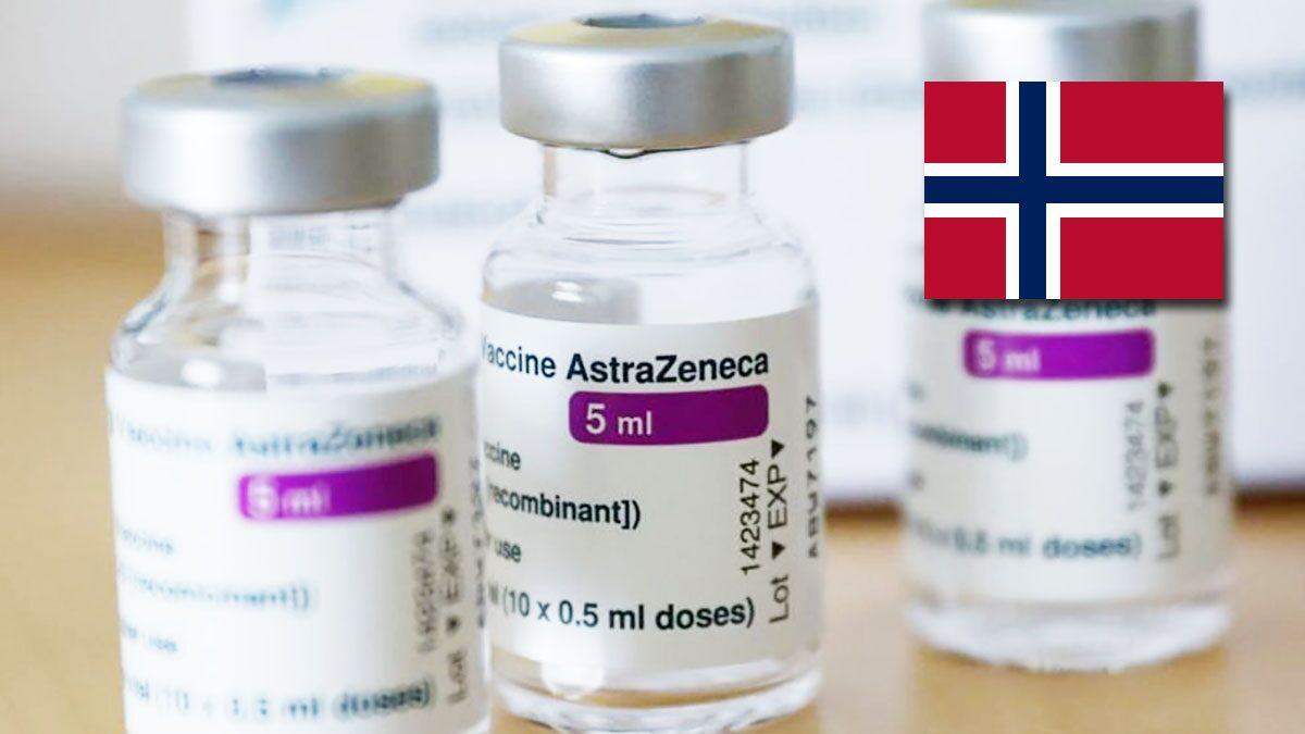 """โควิด: นอร์เวย์ ประกาศจะเลิกฉีดวัคซีน """"แอสตราเซเนกา"""""""
