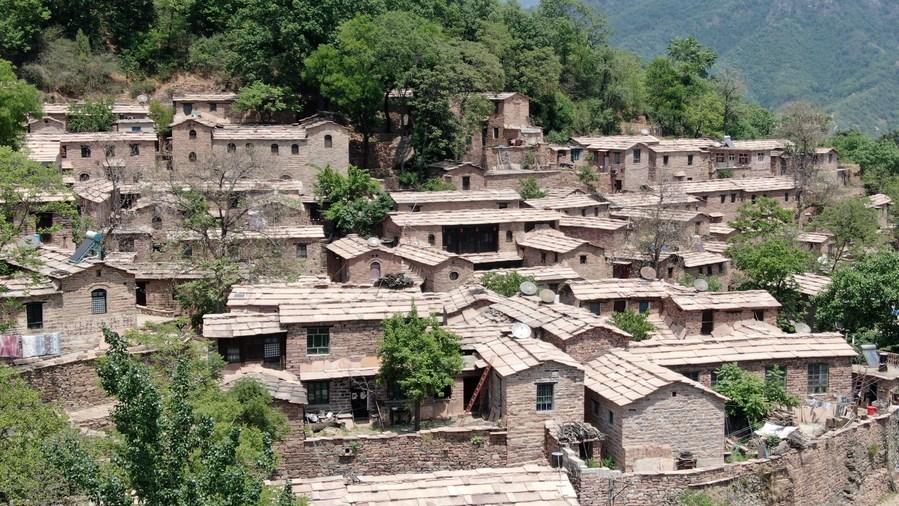 'หมู่บ้านโบราณ' 600 ปี ซุกหุบเขาลึกในเหอเป่ย