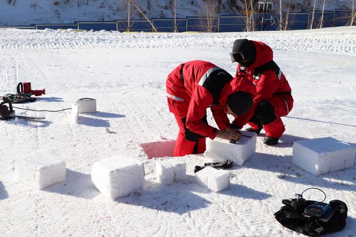 จีนพัฒนา 'เครื่องทดสอบน้ำแข็ง-หิมะ' เตรียมงาน 'งานโอลิมปิก ฤดูหนาว ปักกิ่ง'