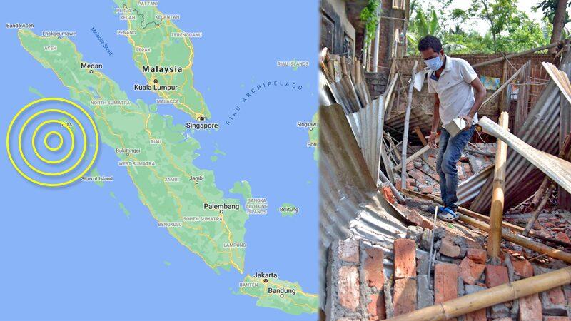 """อินโดนีเซียหนีตายอีก """"ดินไหว"""" เขย่าแรง 6.6 แม็กนิจูด-โล่งใจไร้สึนามิ"""