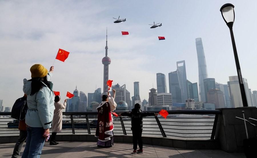 สำรวจพบ 'โควิด-19' หนุนชาวจีนไว้วางใจรัฐบาลเพิ่มขึ้น