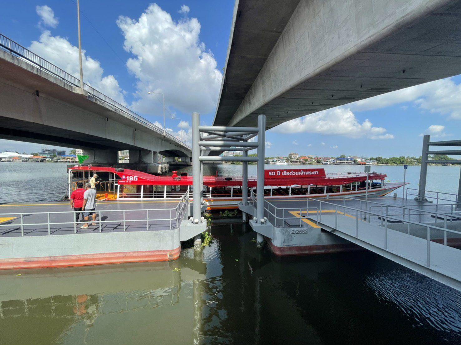 """ดีเดย์ 17 พ.ค. เรือด่วนเจ้าพระยา เปิดทดลองให้บริการ """"ท่าสะพานพระนั่งเกล้า"""" เชื่อมรถไฟฟ้าสีม่วง"""