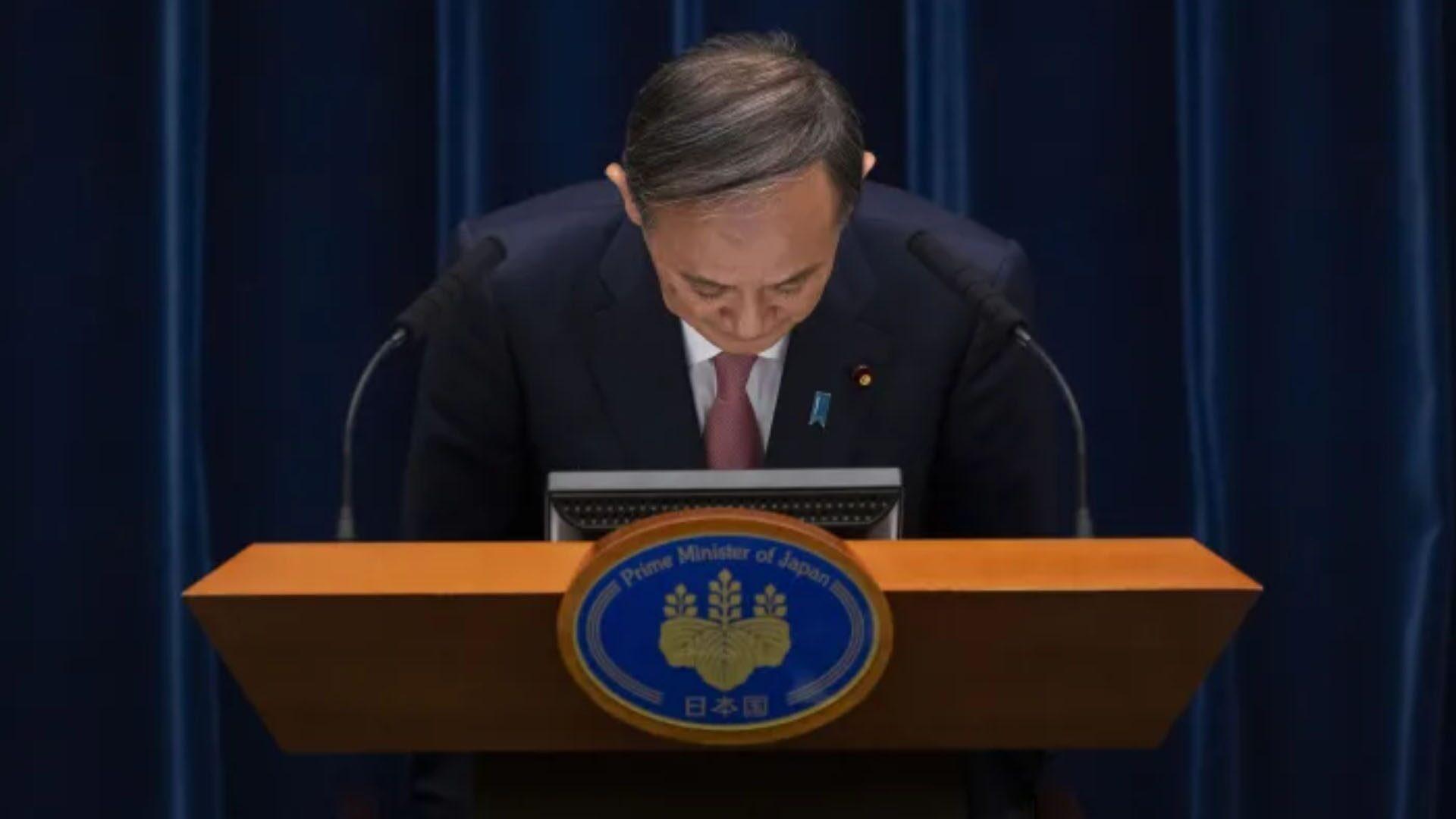 นายกฯญี่ปุ่นโค้งขอโทษปชช. ต้องขยายพื้นที่ประกาศสถานการณ์ฉุกเฉินรับมือโควิด