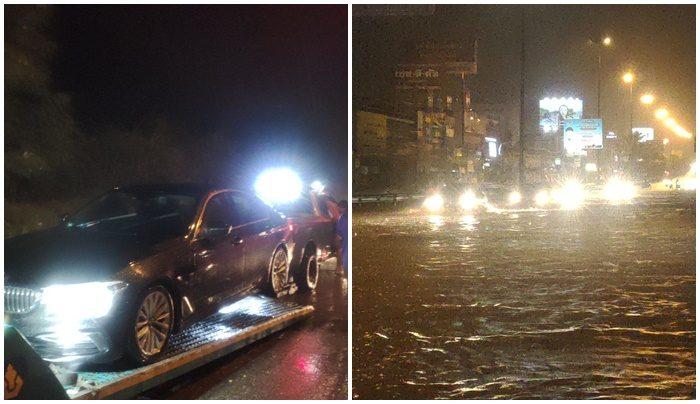 ฝนตกหนัก 2 ชม. ทำถนนพัทยาท่วมหลายสาย