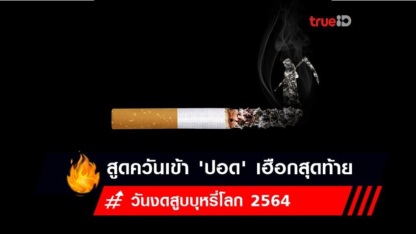 วันงดสูบบุหรี่โลก 2564 :  สูดควันเข้า 'ปอด' เฮือกสุดท้าย เสี่ยงตาย ทำลายโลก