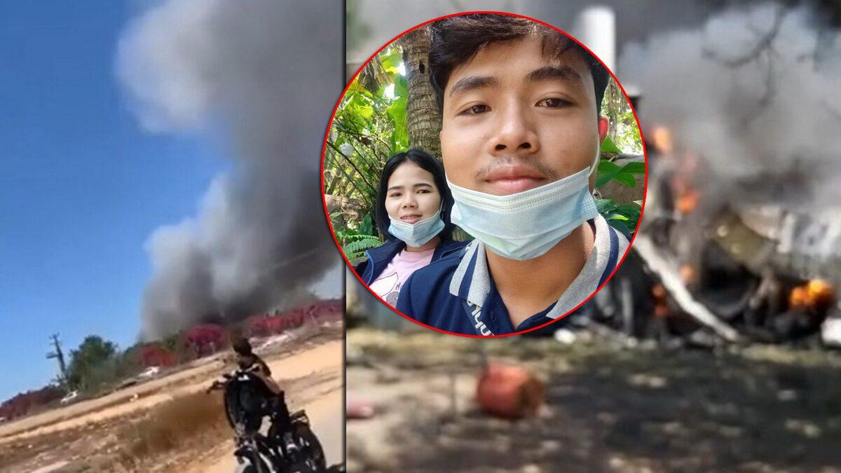แรงงานไทยเล่านาทีระเบิดลง 60 คนอลหม่าน ช่วยน้องไม่ทัน ห่างบังเกอร์แค่5ก้าว