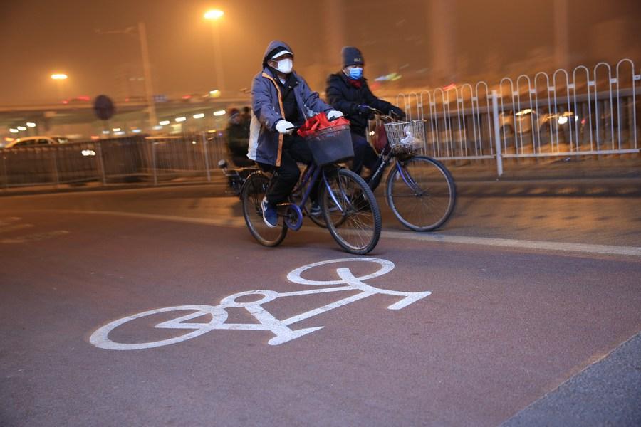 ฮอตฮิต! 'ถนนจักรยาน' ของปักกิ่ง ยอดใช้งานทะลุ 3.18 ล้าน