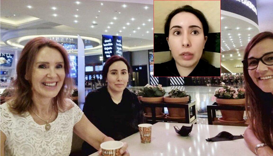 เจ้าหญิงในกรงทอง ลาติฟาปรากฏตัวแล้ว นั่งกับ2สาวในห้างดูไบ