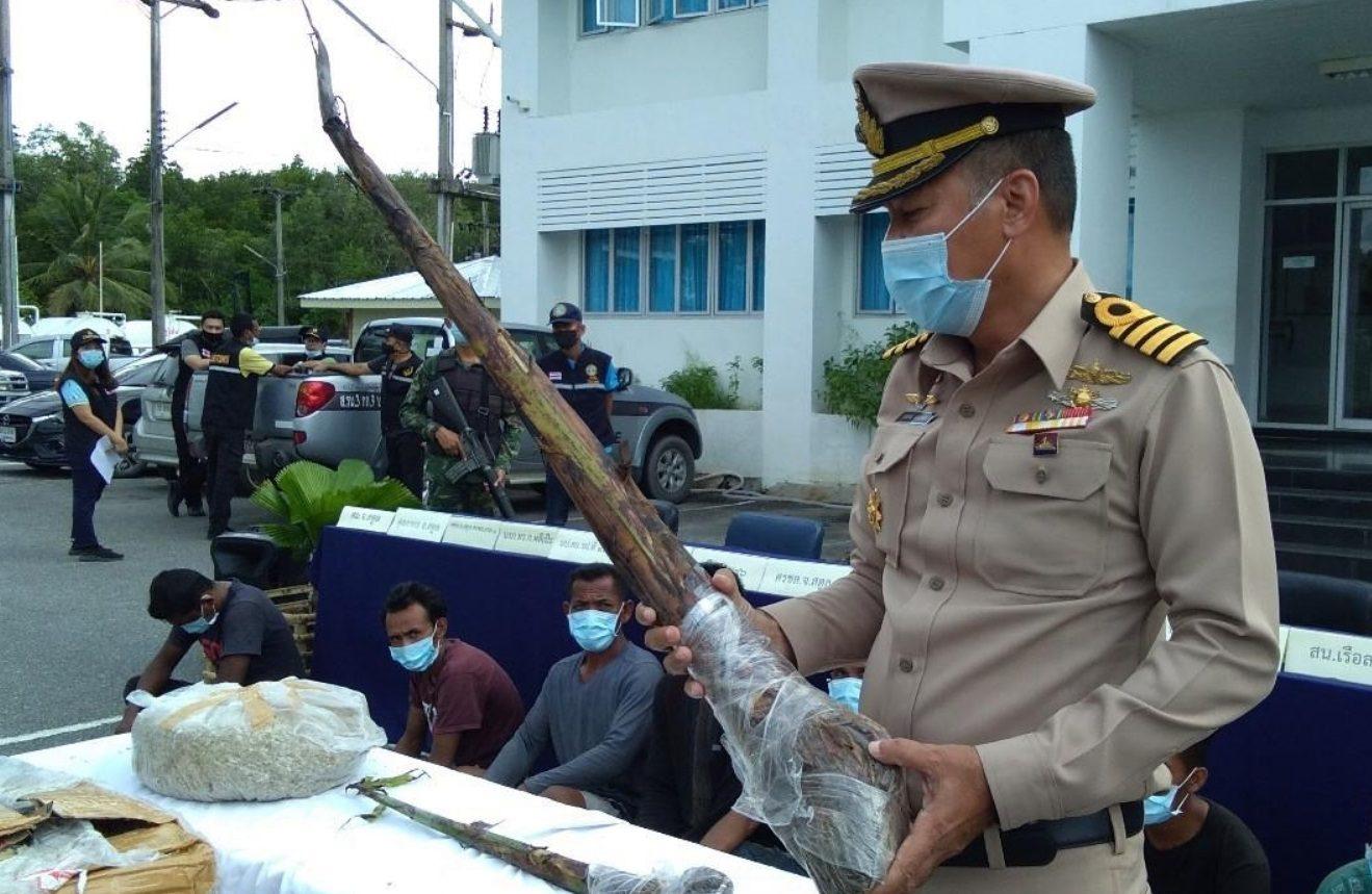 สตูลจับ 7 ชาวอินโดหลบหนีเข้าเมือง แอบซุกรังนก-หน่อกล้วยด่าง ไม้ประดับแพงมาด้วย