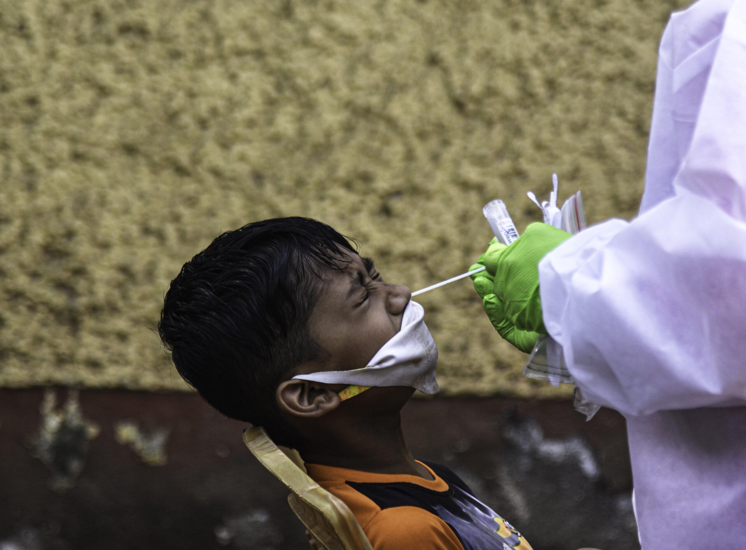 อินเดียพบ 'เด็กกำพร้า' เพราะโควิด-19 กว่า 1,700 คน