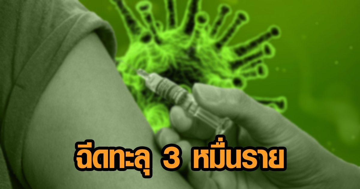 ระยอง เจอผู้ติดเชื้อเพิ่ม 18 ราย - เผยในจังหวัดฉีดวัคซีนแล้วกว่า 3 หมื่นคน