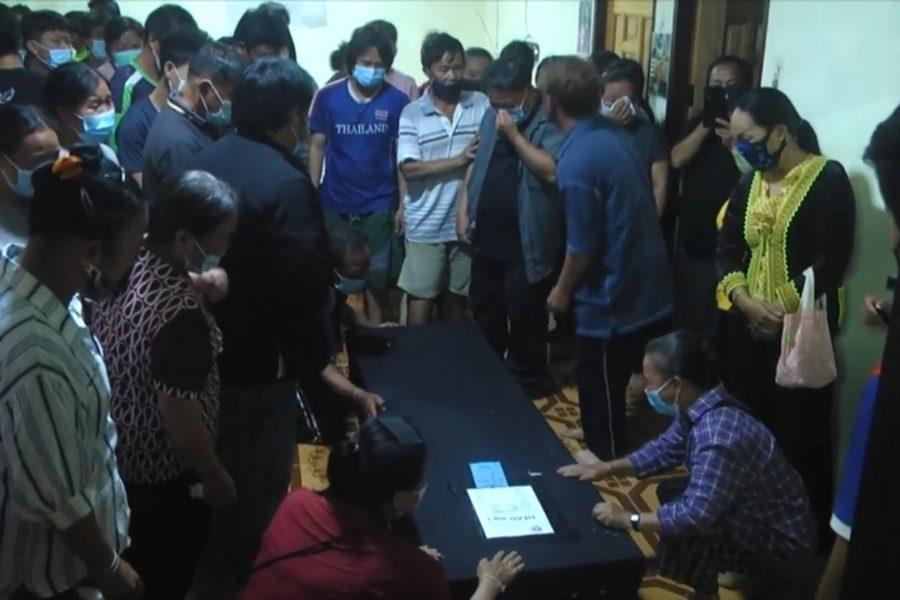 ศพแรงงานไทยชาวเพชรบูรณ์ กลับถึงภูมิลำเนาแล้ว ครอบครัวทำพิธีเชิญวิญญาณเข้าบ้าน