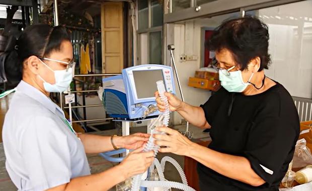 มูลนิธิพุทธรักษา ขอเชิญชวนร่วมบริจาค มอบเครื่องช่วยหายใจให้รพ.