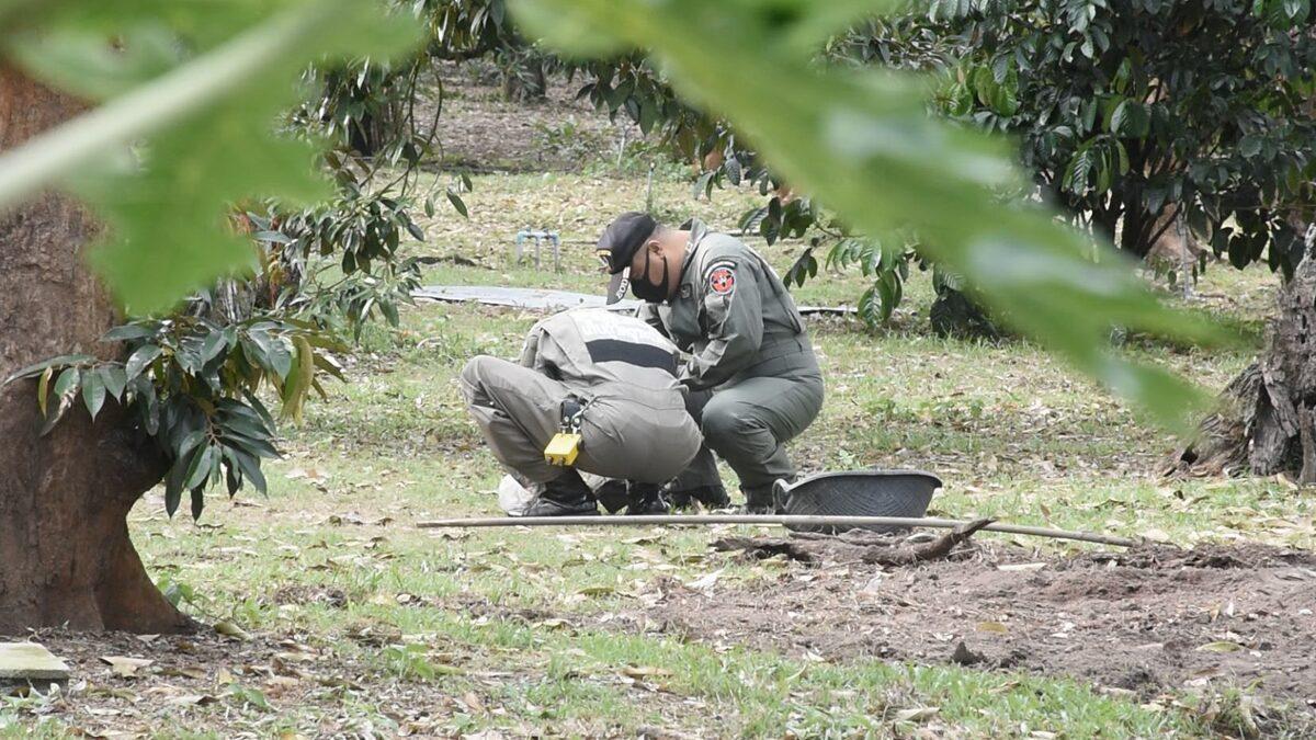 จันทบุรี ชาวสวนช็อก เก็บทุเรียนในสวน เจอระเบิด M67 พร้อมตูมทุกเมื่อ