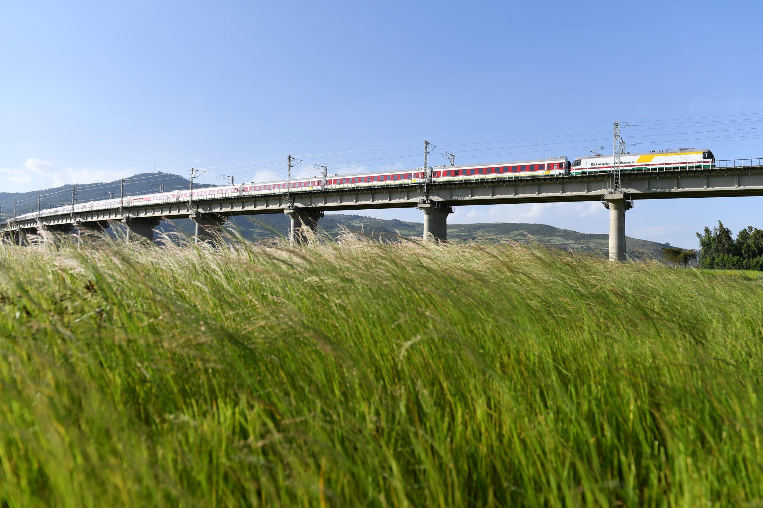 ทางรถไฟ 'เอธิโอเปีย-จิบูตี' ฝีมือจีน ขนส่งสินค้ากว่า 3 ล้านตันใน 3 ปี