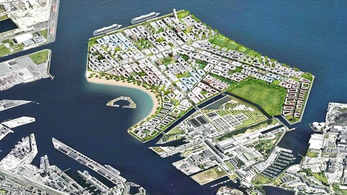"""เดนมาร์กฉลุยสร้าง """"เกาะเทียม"""" ขนาดมหึมา เร่งป้องกันชายฝั่งจากน้ำทะเลสูง"""