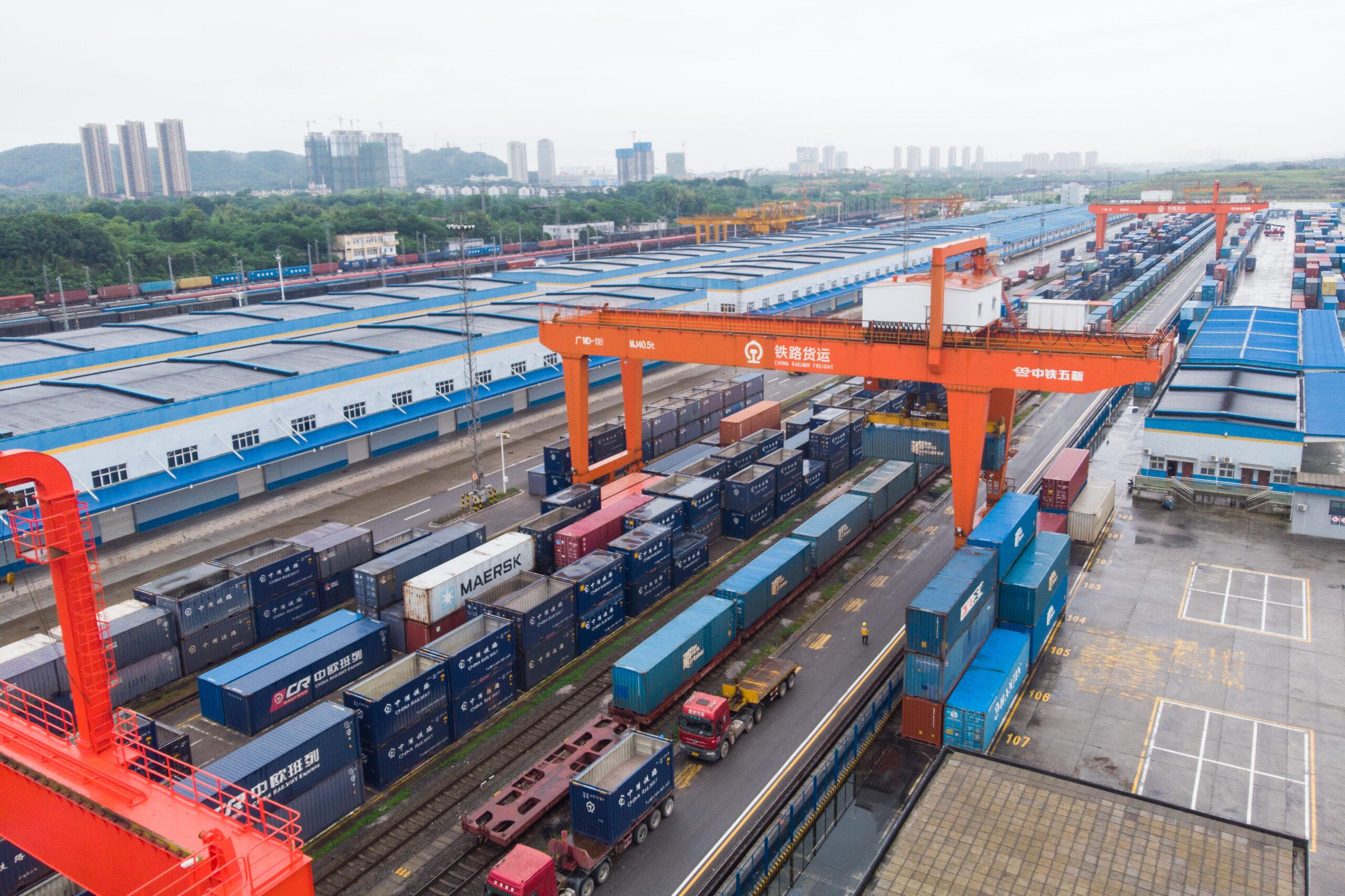 รถไฟสินค้า 'จีน-ยุโรป' สายใหม่ เชื่อมเจ้อเจียง-บูดาเปสต์