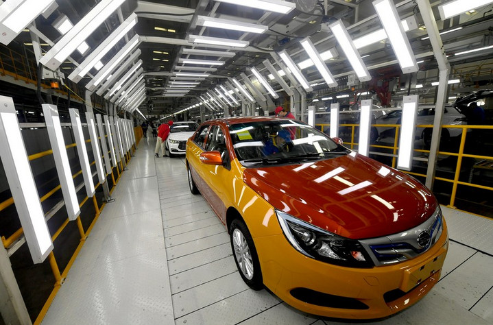 ค่ายรถยนต์ไฟฟ้าจีน 'บีวายดี' เผยยอดขายเดือนมิ.ย. ทะลุ 4.1 หมื่นคัน