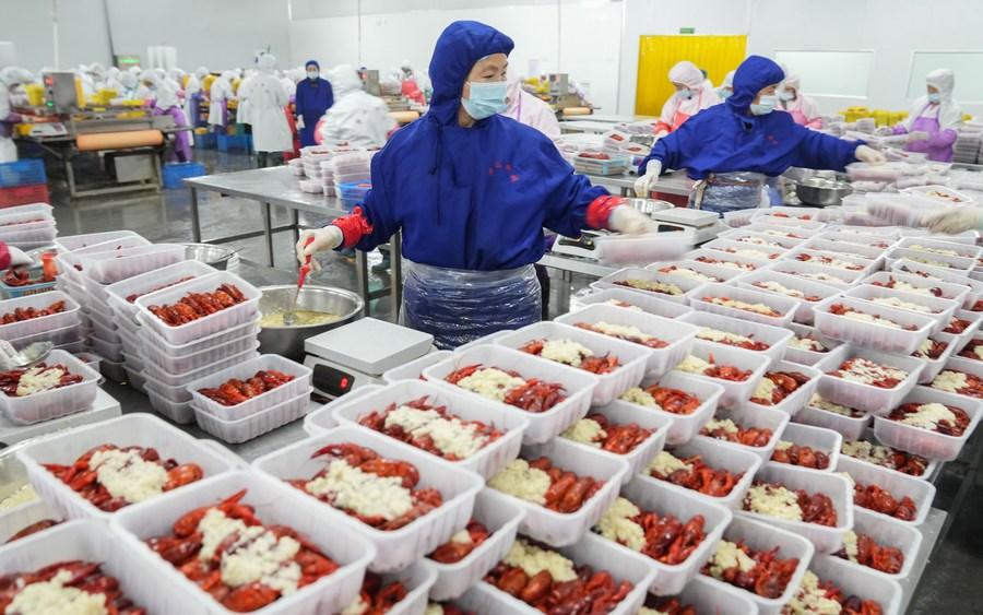 'เครย์ฟิชในนาข้าว' อุตสาหกรรมมูลค่ากว่า 5.2 หมื่นล้านแห่งเฉียนเจียง