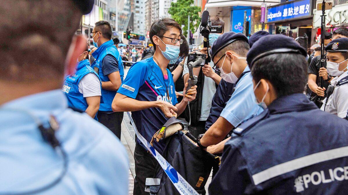 ฮ่องกงจับวัยรุ่น 3 คน เด็กสุดอายุแค่ 15 หลังร่วมรำลึกเหตุตำรวจปะทะม็อบ