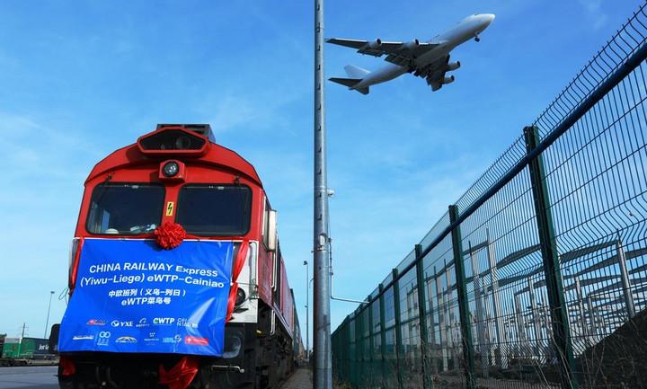 'รถไฟสายด่วนจีน' ขึ้นแท่น 'เส้นเลือดใหญ่การค้า' จีน-ยุโรป ท่ามกลางการระบาดใหญ่