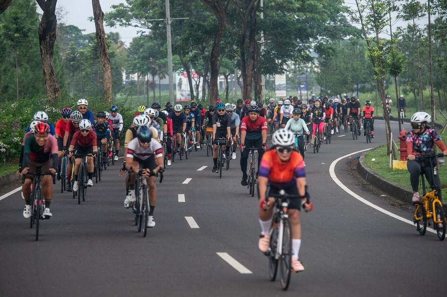 เทรนด์การปั่น! เมืองหลวงอินโดฯ เล็งเพิ่ม 'เลนจักรยาน' ทั่วเมือง