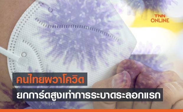 คนไทยผวาโควิด-19! ยกการ์ดสูงเท่าการแพร่ระบาดระลอกแรก