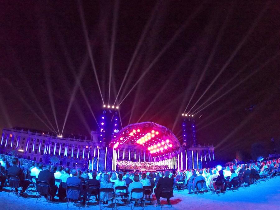 'ออสเตรีย' จัดคอนเสิร์ตใหญ่ยามราตรี ผู้ร่วมชมกว่า 3,000 คน