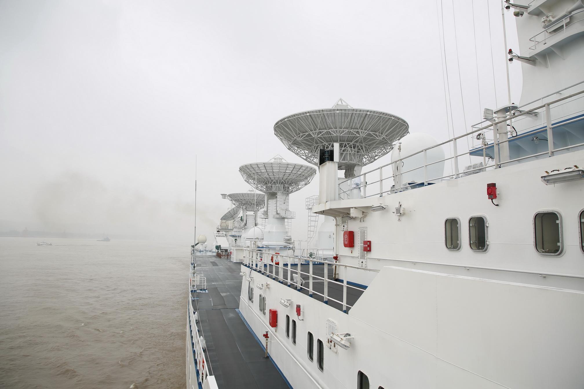 'เรือหย่วนวั่ง-6' จบภารกิจติดตามยานอวกาศ 'เทียนโจว-เสินโจว'