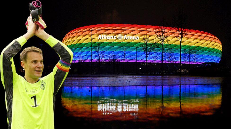 ห้ามเปิดไฟสนามสีรุ้ง ยูฟ่าเบรกปม LGBT กระทบแมตช์เยอรมัน-ฮังการี