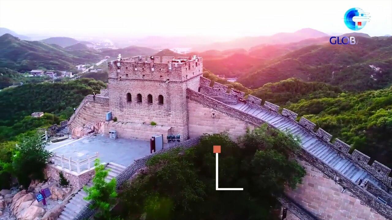 กำแพงเมืองจีนสว่างไสว ฉลอง 'พรรคคอมมิวนิสต์จีน' ก่อตั้งครบ 100 ปี