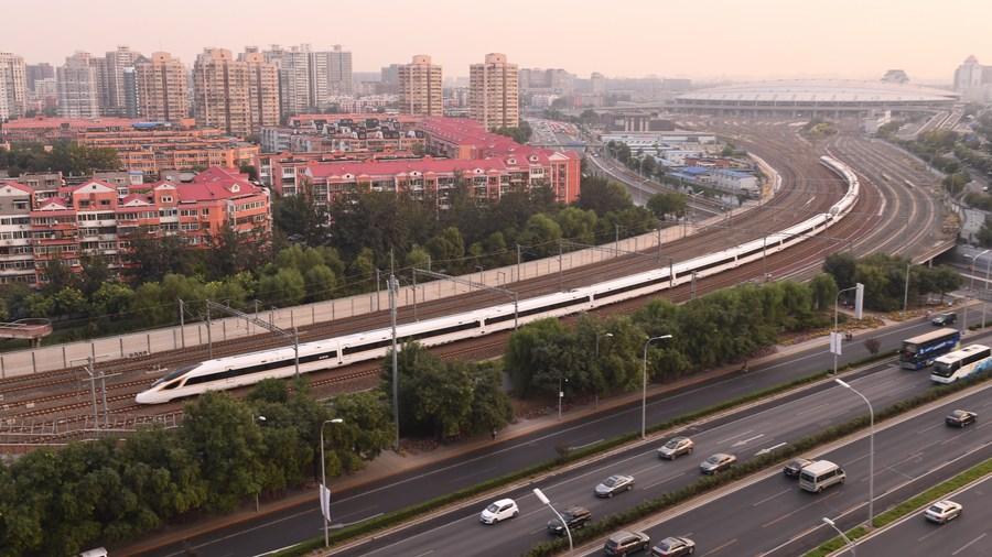 เผยความสำเร็จ 'รถไฟความเร็วสูงปักกิ่ง-เซี่ยงไฮ้' ตลอดระยะเวลา 10 ปี