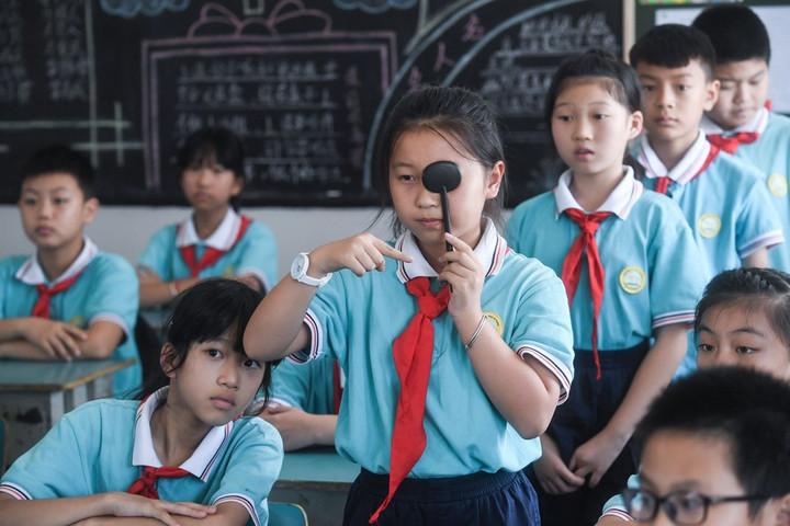 จีนจ่อยกระดับ 'ตรวจวัดสายตาเด็ก' แก้ปัญหาตั้งแต่เนิ่นๆ
