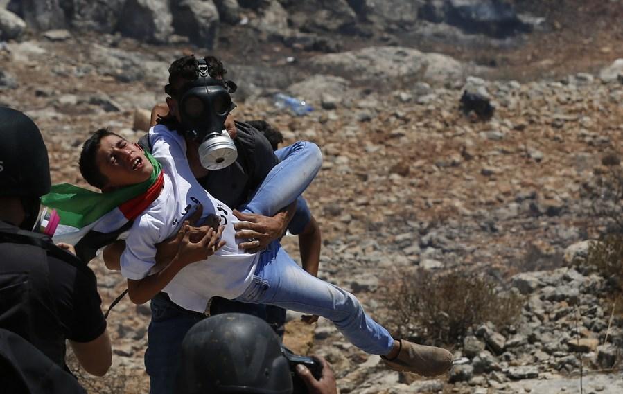 ชาวปาเลสไตน์ปะทะทหาร-ตำรวจอิสราเอลในเวสต์แบงก์