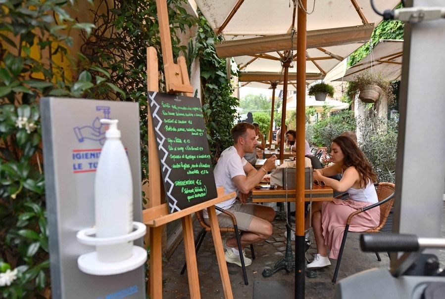 ธุรกิจร้านอาหารใน 'อิตาลี' เริ่มฟื้นตัวสู่ภาวะปกติ