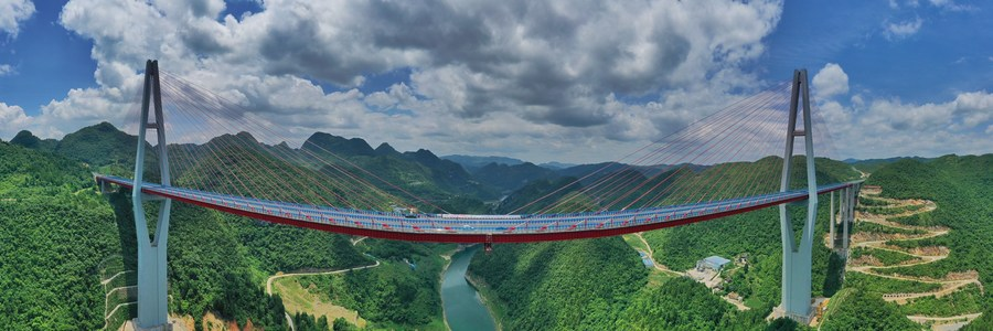 ส่องทางด่วน 'จุนอี้-อวี๋ชิ่ง' ยาว 93 กิโลเมตรในกุ้ยโจว
