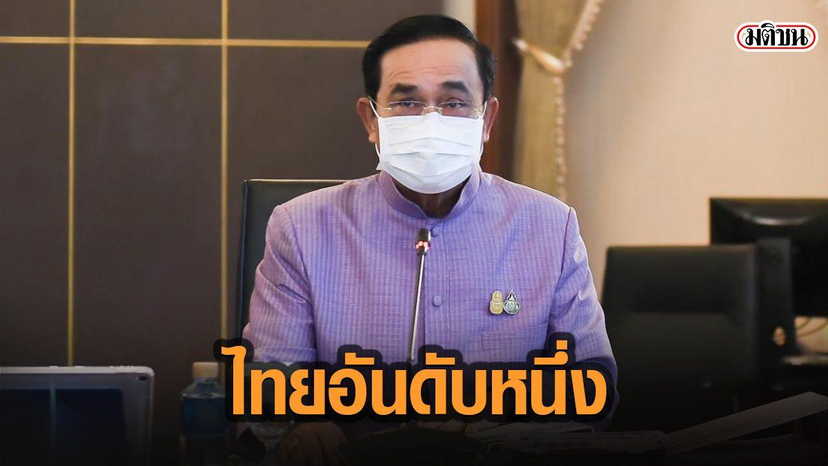 นายกฯแจ้งที่ประชุมครม. อ้างไทยผงาดอันดับ 1 อาเซียน 3 ปีซ้อน ประเทศที่พัฒนาอย่างยั่งยืน